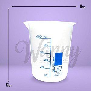 1060 - Copo Becker Plástico 600ml