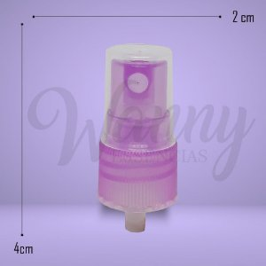 881 - Válvula Spray Lilás 18/410