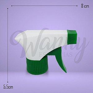 3654 - Válvula Gatilho Branco C/ Verde R28