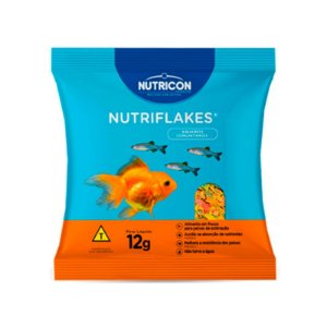 Nutriflakes - Ração para Peixes Ornamentais 12g