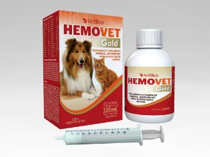 Hemopet Gold suplemento vitaminico Cães e Gatos