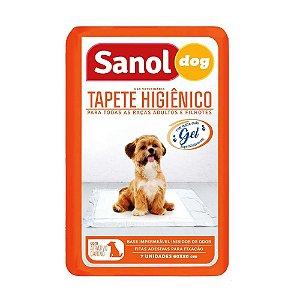 Tapete higienico sanol 1 unidade 60x80 cm