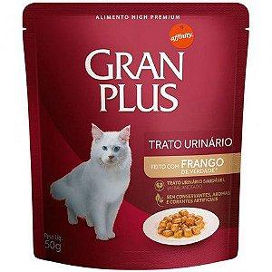 Gran Plus Gato trato urinário sabor Frango sachê 50 g