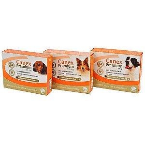 Canex premium vermifugo e giardicida (4 comprimidos)
