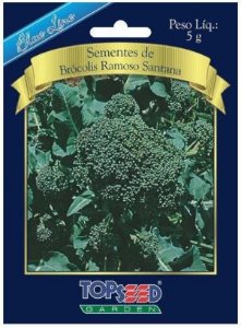 SEMENTE DE BRÓCOLIS DE CABEÇA- BLUE LINE 5G