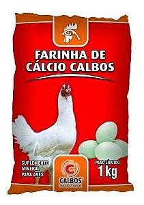 FARINHA DE CÁLCIO CALBOS 1 KG (FORTIFICANTE DE CASCA DE OVOS)