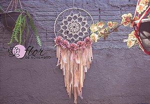 Mandala Filtro dos Sonhos em Crochê