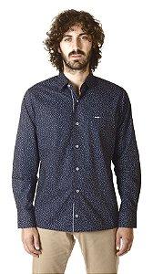 Camisa - Manga Longa Slim- 100% Algodão  Fio 70