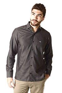 Camisa - Manga Longa Slim | Algodão 100% - Fio 100