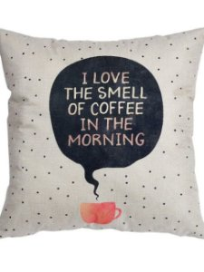 Almofada de Linho - Coffee