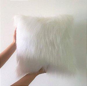 Almofada Fluffy Pillow - Snow