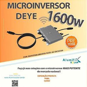 Microinversor DEYE SUN1600G3-220Vca com 4 mppt's