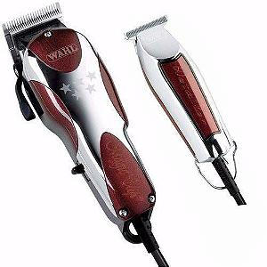kit de máquina de cortar cabelo