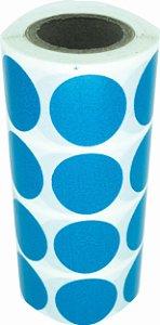 -Etiqueta 2x2/4 Rolo C/1000 Azul