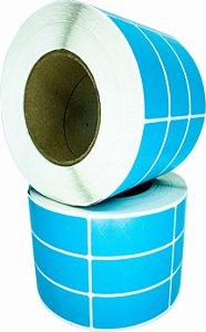 -Lacre para personalizar 7x3/3 rolo com 3.000 Azul