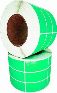 -Lacre para personalizar 7x3/3 rolo com 3.000 Verde