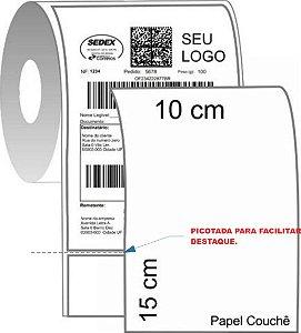 -Etiqueta Mercado Envios correios 100x150mm