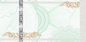 -Ingresso Couche Holografico 108x50mm Verde