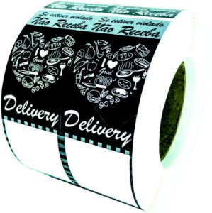 -Lacre para Delivery 16x5cm Food c/1000un
