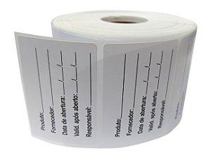 -Etiqueta Validade Anvisa 60x40 Rolo c/1000 Plastico BOPP