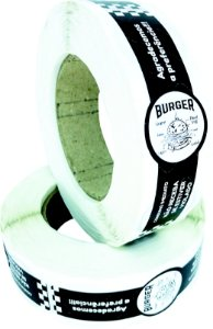 -Lacre para Delivery 12x3 Burger Rolo c/500