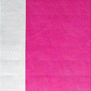 -Printband Rosa Fluor