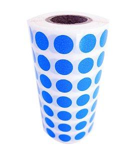 -Etiqueta 1x1/7 Rolo C/5000 Azul