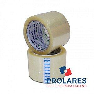 Fita Adesiva Transparente - 70mmx100m - 2 Unidades