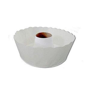 Forma Torta Suíça Papel branco 500g