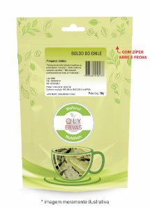 Pacote Boldo do Chile Qly Ervas 30g
