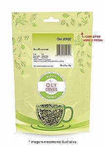 Pacote Chá Verde 50g