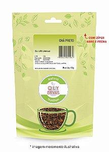Pacote Chá Preto Qly Ervas 50g