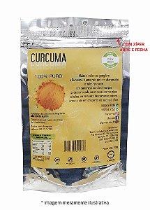 Pacote Curcuma em Pó Qly Ervas 50g