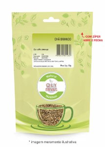 Pacote Chá Branco Qly Ervas 50g