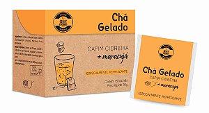 Chá Gelado Capim Cidreira + Maracujá