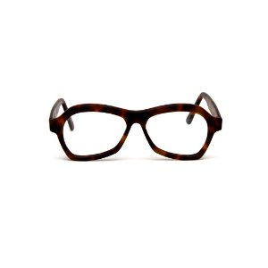 Armação para óculos de Grau Gustavo Eyewear G105 102. Cor: Animal print. Haste animal print. Masculino
