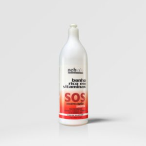 SOS Socorro Capilar Shampoo 1L