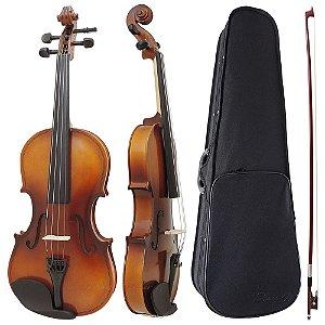 Violino 3/4 Intermediário Completo Augustini Prime Envelhecido