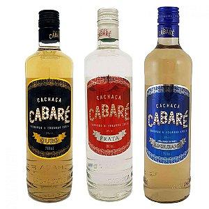 Kit Cachaças Cabaré