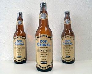 Cachaça Dom Cabral Ed. 1500 Prata 600ml