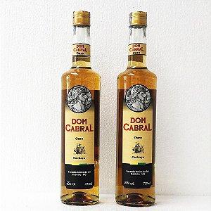 Cachaça Dom Cabral Ouro 700ml