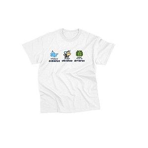 Camiseta Agênero [PROTEJA, SALVE, PLANTE]