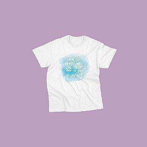 Camiseta Infantil [POR UM MUNDO ONDE...]
