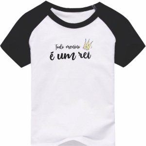 Camiseta Infantil [TODO MENINO É UM REI]