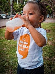 Camiseta Infantil [EU APRENDO BRINCANDO SABIA?]