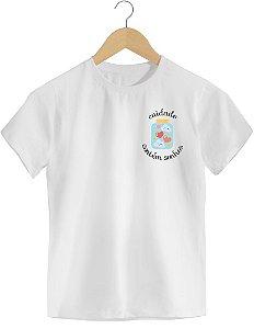 Camiseta Infantil [CUIDADO CONTÉM SONHOS]