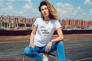 Camiseta Materna [FAMÍLIA É AMOR]