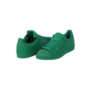 TÊNIS ADIDAS SUPERSTAR SUPERCOLOR VERDE - USADO