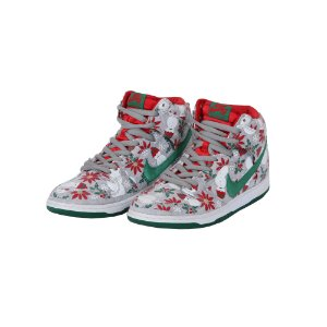 TÊNIS NIKE SB DUNK HIGH CONCEPTS UGLY CHRISTMAS - USADO
