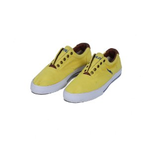 TÊNIS POLO RALPH LAUREN CANVAS YELLOW - USADO